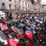 Motorbikes of Kathmandu