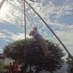 Festival swings