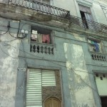 Deteriorating colonial architecture