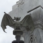 Bicardi bat at Colon Cemetery