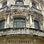 Beautiful facades of Havana