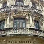 Beautiful facades of Havana
