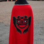Tlingit robe on Kake