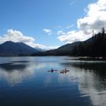 Kayaking in Hobart Bay