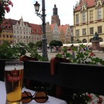 Polish beer with a view