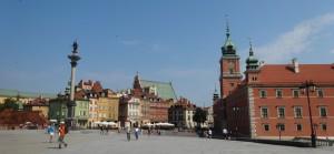 Warsaw's Royal Palace and square