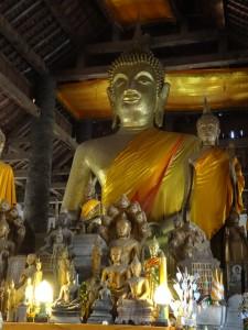 Buddha at Wat Visoun