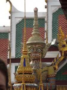 Demons guard Grand Palace