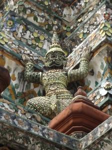 Porcelain details of Wat Arun