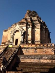 Wat Chedi Luang in Chiangmai