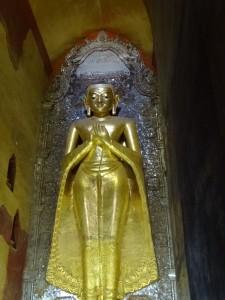 A svelte-waisted Buddha
