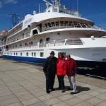 Boarding Sea Spirit destined for North Atlantic ports