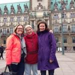 Visiting Didi and Bea in Hamburg