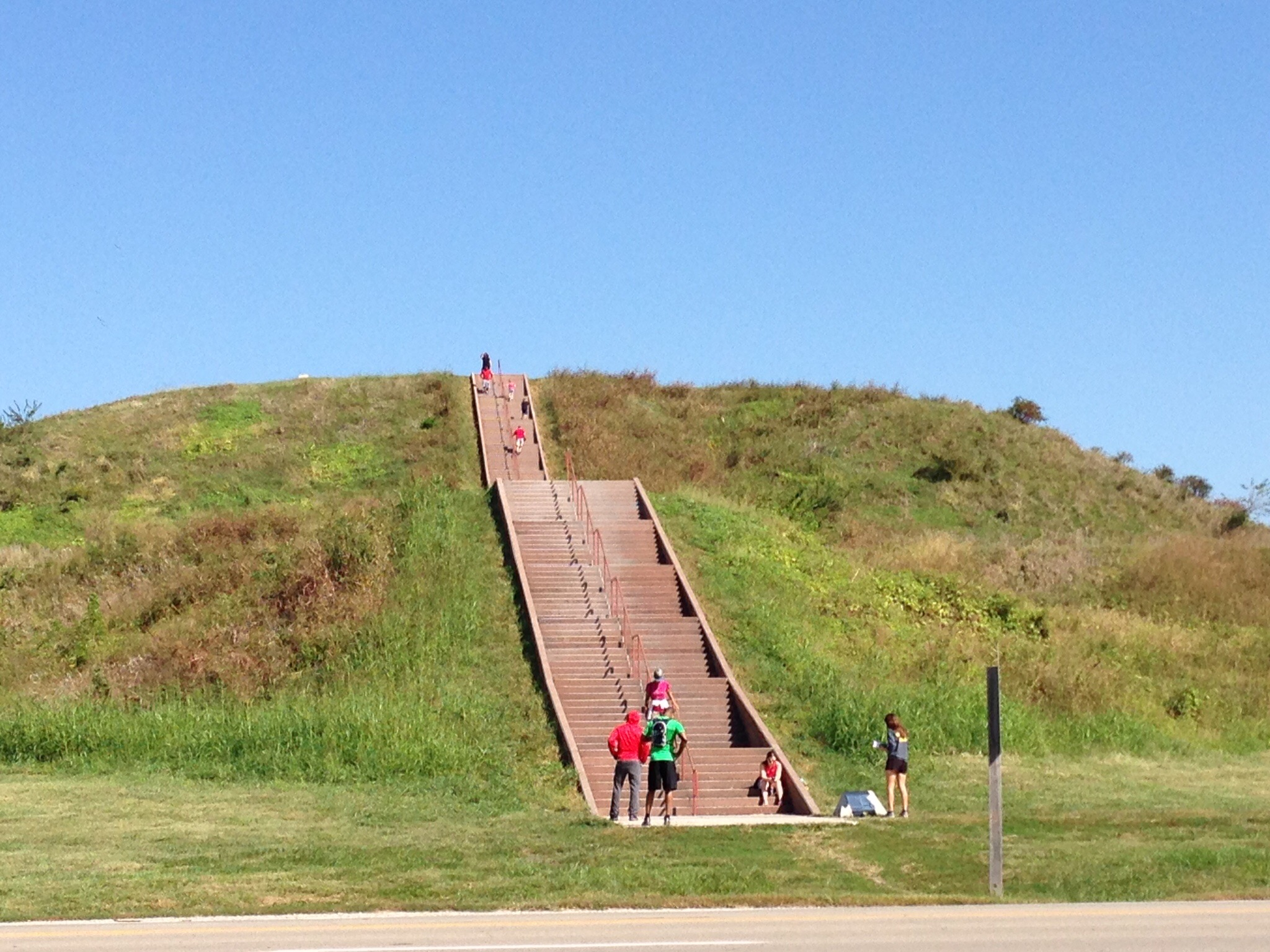 One gigantic mound of dirt