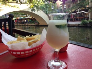River Walk is THE place for beer and margaritas, tranquility and ducks