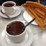 Decadent chocolate and churros, oh my!