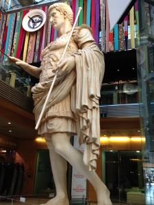 Caesar Augustus, Zaragoza's namesake