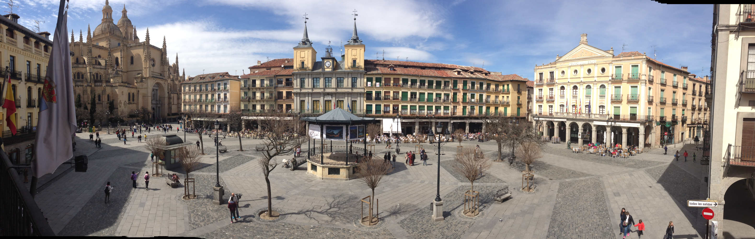 Plaza Mayor, Segovia