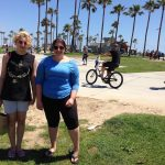 Teens at Venice Beach. Just the right mix of southern California beach life.