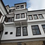 Traditional Ottoman Turkish architecture of Ohrid