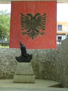 Skanderbeg Memorial in Lezhë