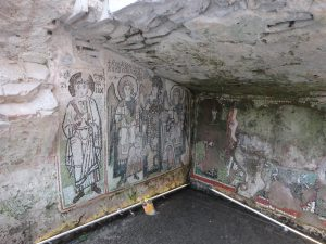Well preserved fresco beneath Durrës Amphitheater