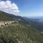 Llogora Pass above Albania's Rivera
